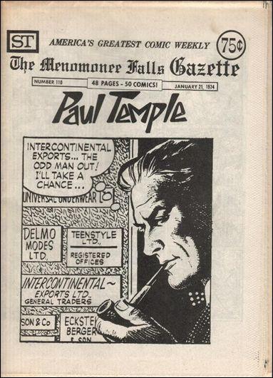 Menomonee Falls Gazette 110-A by Street Enterprises