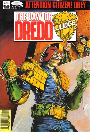Law of Dredd 29-A by Fleetway Quality