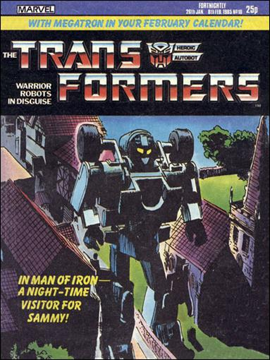 Transformers (UK) 10-A by Marvel UK