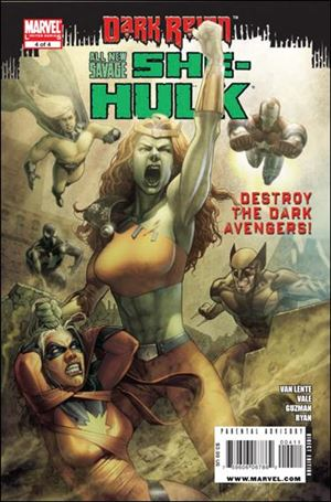All-New Savage She-Hulk  4-A