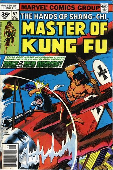 Master of Kung Fu 57-B by Marvel