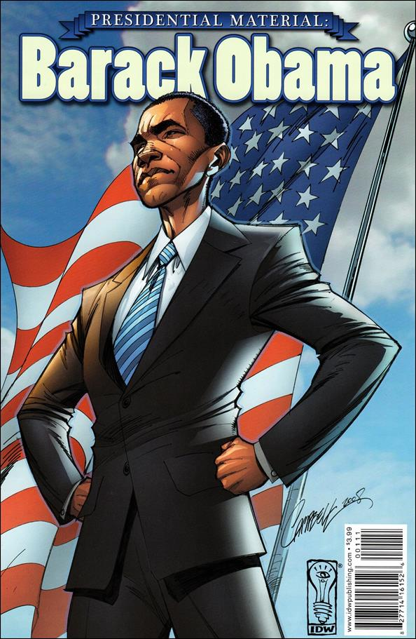 Presidential Material: Barack Obama 1-A by IDW