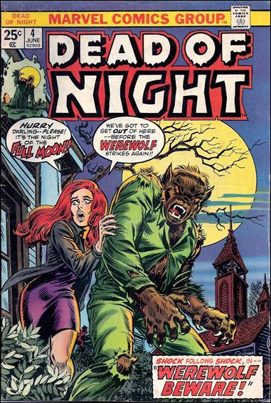 Dead of Night 4-A by Marvel
