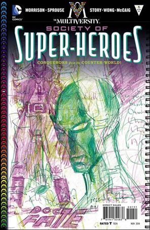 Multiversity: The Society of Super-Heroes: Conquerors of the Counter-World 1-E