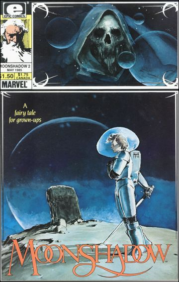Moonshadow (1985) 2-A by Epic