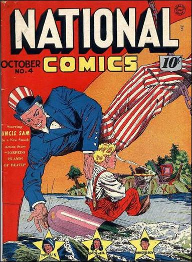National Comics (1940) 4-A by Quality