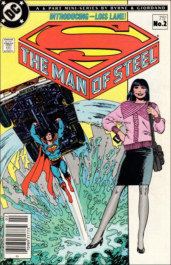 Man of Steel 2-A by DC