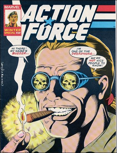 Action Force Special 2-A by Marvel UK