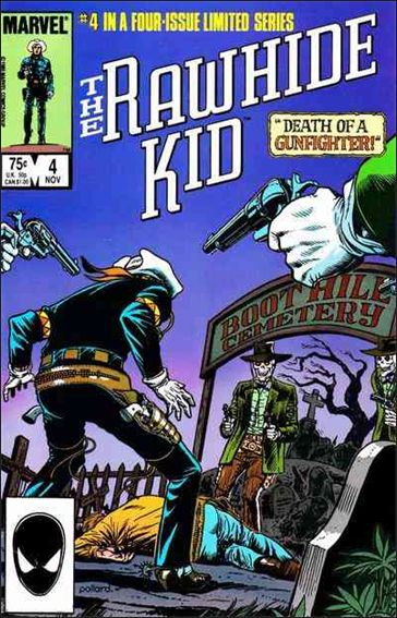 Rawhide Kid (1985) 4-A by Marvel