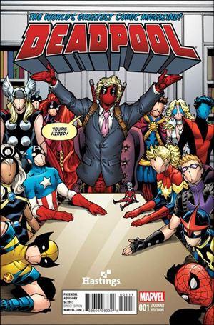 Deadpool (2016) 1-J