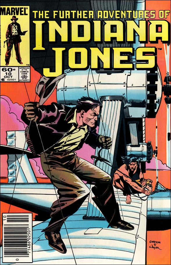 Further Adventures of Indiana Jones 10-A by Marvel
