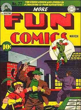 More Fun Comics 77-A by DC