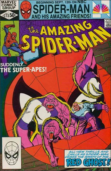 Amazing Spider-Man (1963) 223-A by Marvel