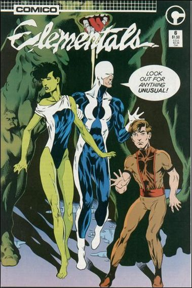 Elementals (1985) 6-A by Comico