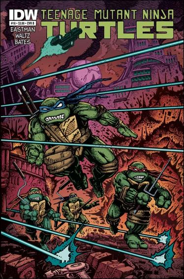 Teenage Mutant Ninja Turtles (2011) 18-B by IDW