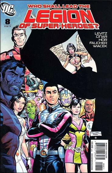 Legion of Super-Heroes (2010) 8-A by DC