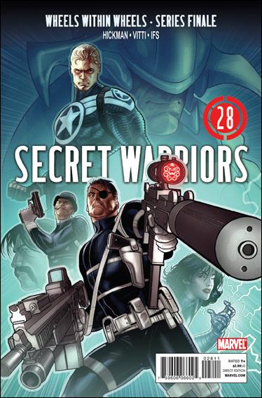 Secret Warriors 28-A by Marvel