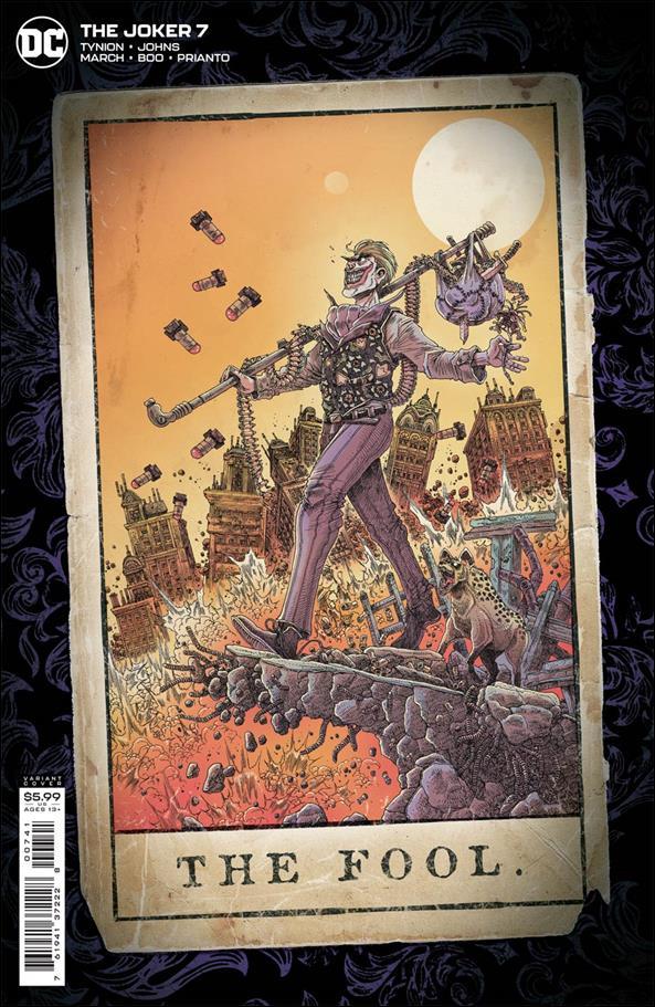 Joker (2021) 7-D by DC