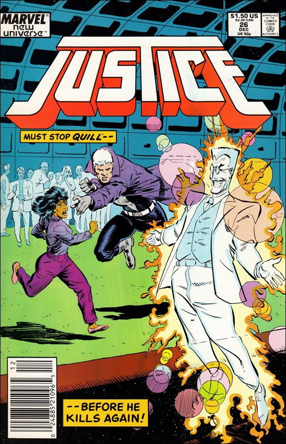 Justice (1986) 26-A by Marvel