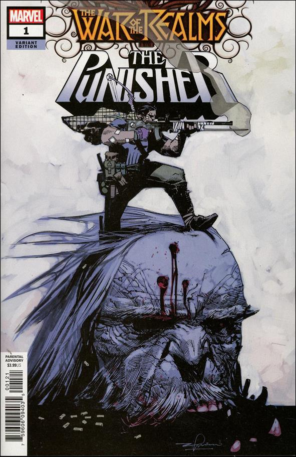 War of the Realms: The Punisher 1-C by Marvel
