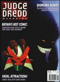 Judge Dredd Megazine (1992) 54-A by Fleetway