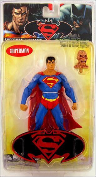 Superman/Batman (Series 6) - Enemies Among Us Superman w/ Alien Head by DC Direct