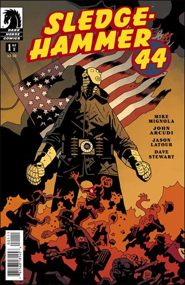 Sledge-Hammer 44 1-A by Dark Horse