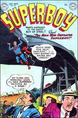 Superboy (1949) 28-A by DC