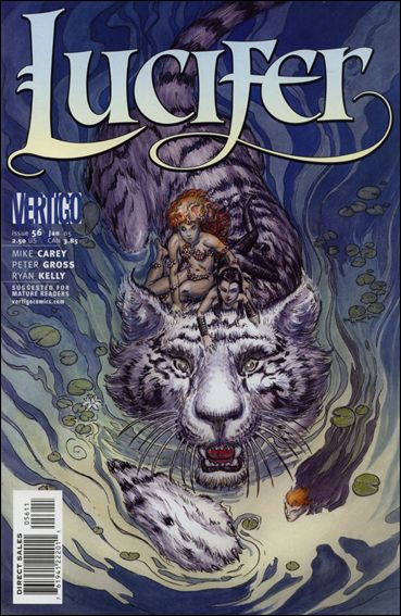 Lucifer (2000) 56-A by Vertigo