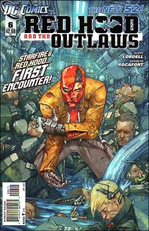 Red Hood and the Outlaws (2011) 6-A
