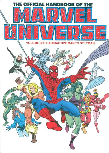 Official Handbook of the Marvel Universe 6-A by Marvel