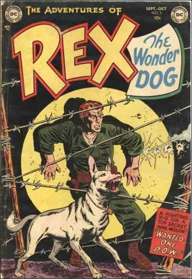 Adventures of Rex the Wonder Dog 5-A by DC