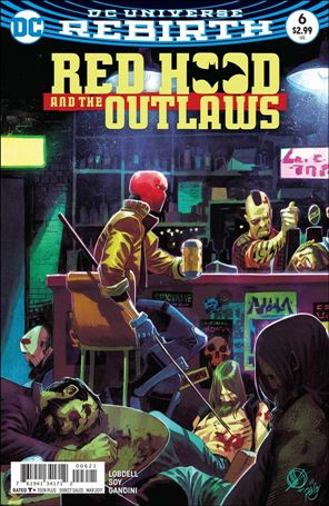 Red Hood and the Outlaws (2016) 6-B