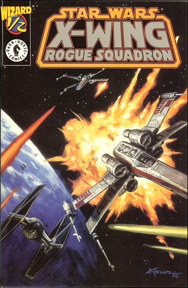 Star Wars: X-Wing Rogue Squadron 1/2-B by Dark Horse