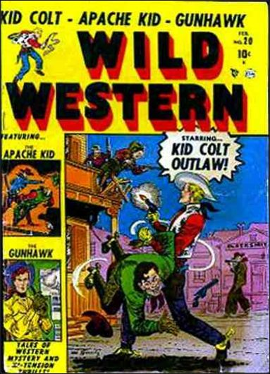 Wild Western 20-A by Marvel