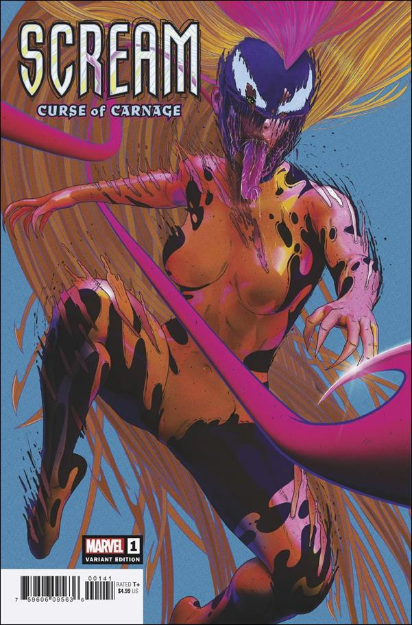 Scream: Curse of Carnage 1-D by Marvel