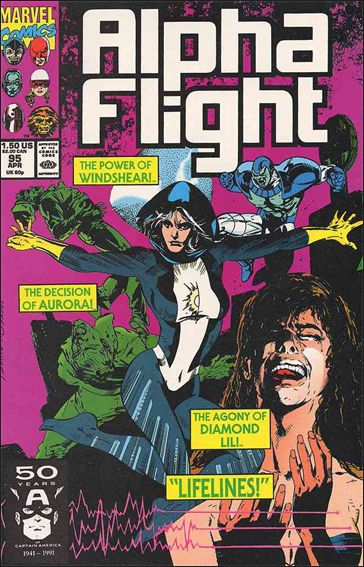 Alpha Flight (1983) 95-A by Marvel