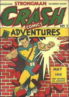Crash Comics 1-A by Tem Publishing