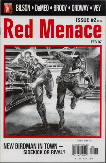 Red Menace 2-A by WildStorm
