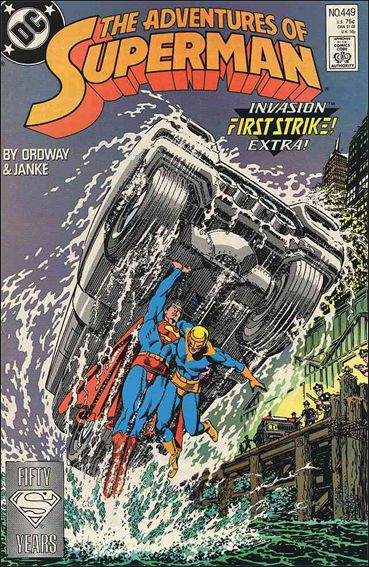 Adventures of Superman (1987) 449-A by DC
