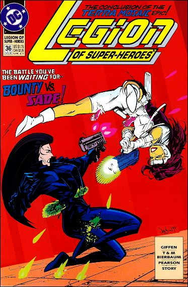 Legion of Super-Heroes (1989) 36-A by DC