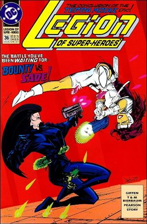 Legion of Super-Heroes (1989) 36-A
