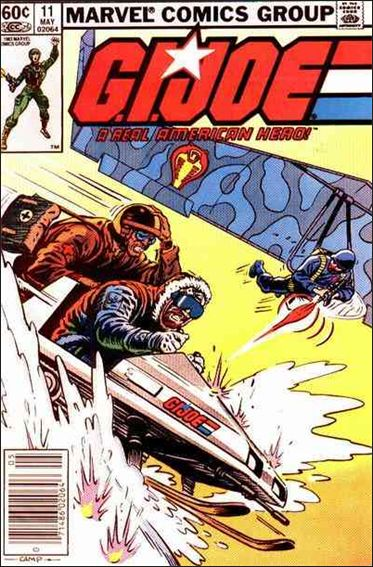 G.I. Joe: A Real American Hero 11-A by IDW
