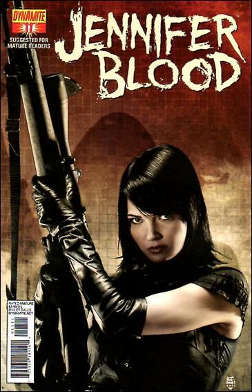 Jennifer Blood 11-A by Dynamite Entertainment