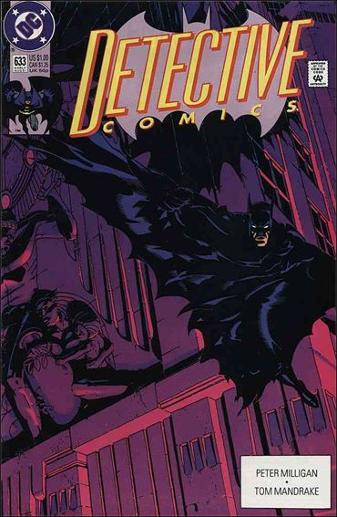 Detective Comics (1937) 633-A by DC