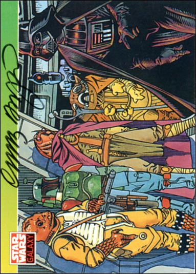 Star Wars Galaxy: Series 1 (Autograph Subset) 114-A by Topps
