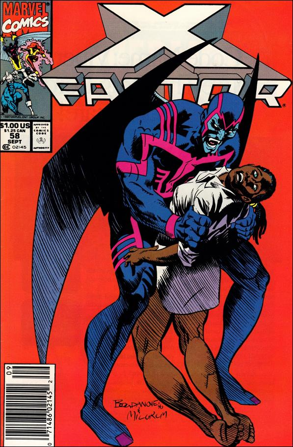 X-Factor (1986) 58-A by Marvel