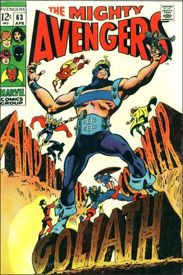 Avengers (1963) 63-A by Marvel