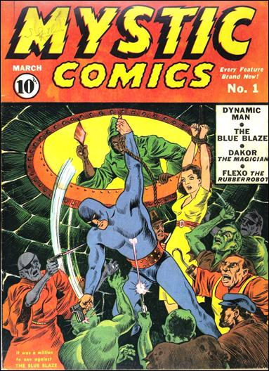 Mystic Comics (1940) 1-A by Timely