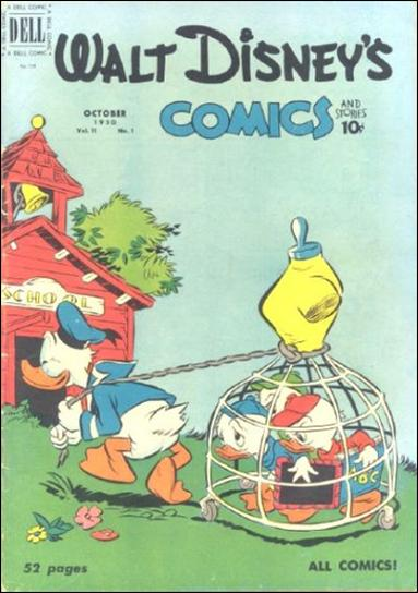 Walt Disney's Comics and Stories (1940) 121-A by Dell